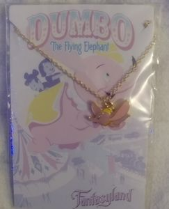 DUMBO Flying Elephant necklace